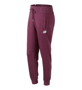 Fioletowe spodnie sportowe New Balance z jedwabiu