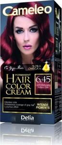 Delia Cosmetics Cameleo HCC farba do każdego typu włosów permanentna omega+ nr 6.45 light mahogany 60 ml