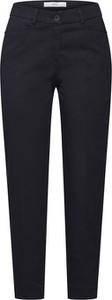 Granatowe spodnie Brax z bawełny