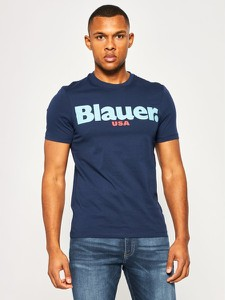 T-shirt Blauer z krótkim rękawem
