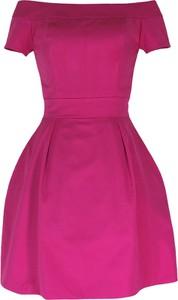 Sukienka Camill Fashion z krótkim rękawem w stylu retro