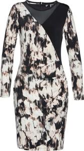 Sukienka bonprix bpc selection premium mini z okrągłym dekoltem