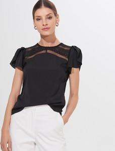Czarna bluzka Mohito