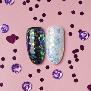 Hi Hybrid, Glam, brokat na paznokcie, #509 Unicorn Glitter 1.5g