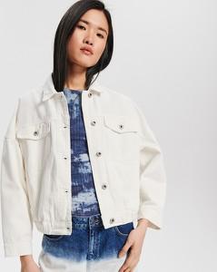 Kurtka Reserved w street stylu z jeansu krótka