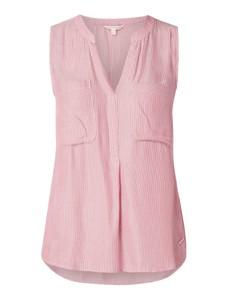 Różowa bluzka Tom Tailor Denim