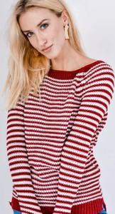 Czerwony sweter Zoio