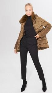Brązowa kurtka Mohito krótka w stylu casual