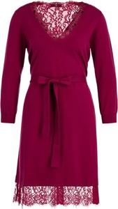 Różowa sukienka Twinset mini