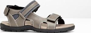 Brązowe buty letnie męskie bonprix bpc bonprix collection