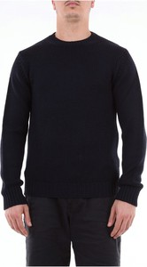 Niebieski sweter Retois z wełny