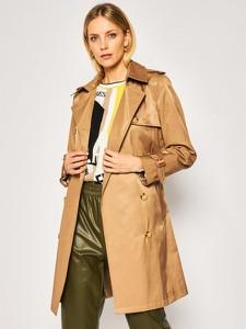 Brązowy płaszcz Ralph Lauren