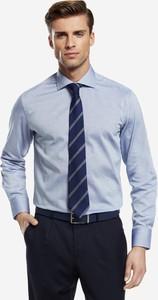 Koszula Wólczanka z tkaniny z długim rękawem