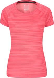 Różowa bluzka Mountain Warehouse w stylu casual
