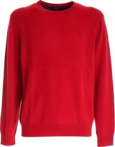 Czerwona koszulka z długim rękawem POLO RALPH LAUREN