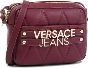 Fioletowa torebka Versace Jeans w młodzieżowym stylu