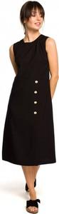Czarna sukienka Be