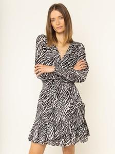Sukienka Michael Kors mini w stylu casual kopertowa