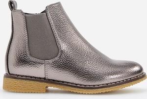 Srebrne buty dziecięce zimowe Reserved
