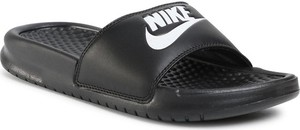 Klapki Nike z płaską podeszwą