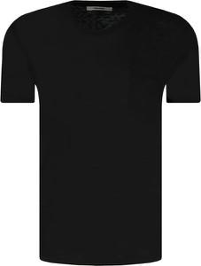 Czarny t-shirt Zadig & Voltaire w stylu casual z krótkim rękawem