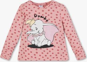 Koszulka dziecięca C&A z bawełny w groszki