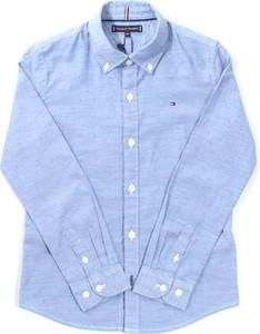 Niebieska koszula dziecięca Tommy Hilfiger