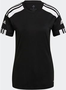 Bluzka Adidas w sportowym stylu z krótkim rękawem z dżerseju