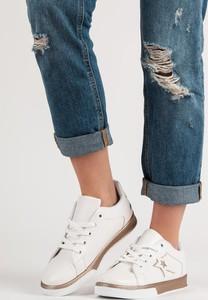 Buty sportowe Czasnabuty z płaską podeszwą w sportowym stylu niskie
