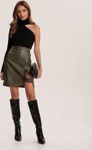 Spódnica Renee mini w rockowym stylu