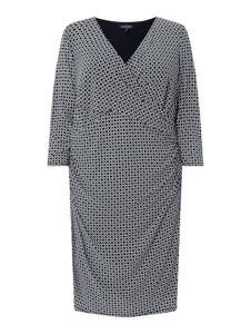 Sukienka Lauren Ralph Lauren Curve z długim rękawem