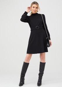 Sukienka V by Very w stylu casual mini z okrągłym dekoltem