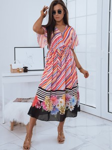 Sukienka Dstreet maxi z dekoltem w kształcie litery v