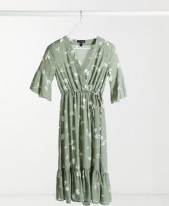 Zielona sukienka Qed London midi