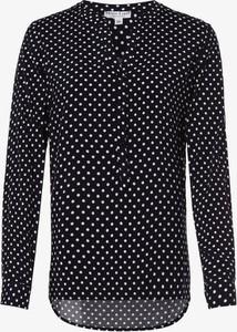 Bluzka Marie Lund z dekoltem w kształcie litery v z długim rękawem