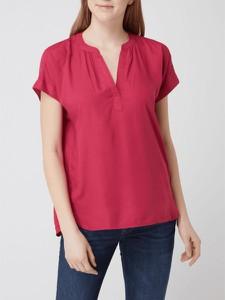 Różowa bluzka Esprit z krótkim rękawem
