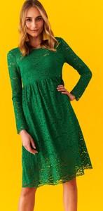 Sukienka Top Secret z okrągłym dekoltem