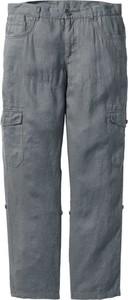Spodnie bonprix bpc bonprix collection bez wzorów
