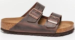 Brązowe buty letnie męskie Birkenstock