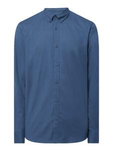 Niebieska koszula Esprit z długim rękawem w stylu casual z kołnierzykiem button down