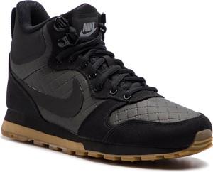 Buty sportowe Nike ze skóry ekologicznej md runner