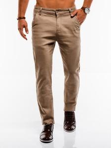 Brązowe spodnie Edoti