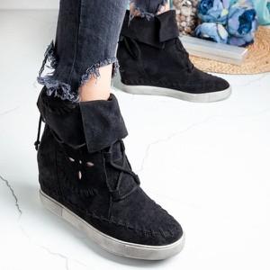Sneakersy Royalfashion.pl sznurowane