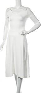 Sukienka Anna Field bez rękawów midi z okrągłym dekoltem