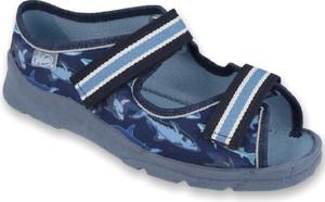 Buty dziecięce letnie Befado na rzepy