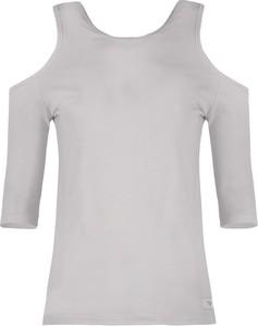 Bluzka By Insomnia w stylu casual z bawełny