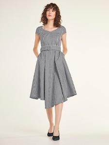 Sukienka Heine z krótkim rękawem midi