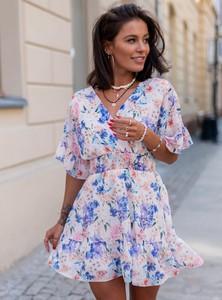 Sukienka SELFIEROOM mini z długim rękawem