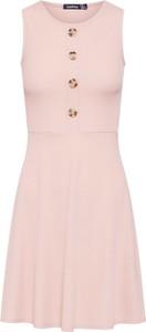 Sukienka BooHoo mini bez rękawów z dżerseju