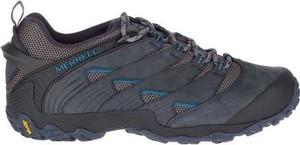 Buty trekkingowe Merrell w sportowym stylu sznurowane z nubuku